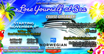 "The ""Lose Yourself at Sea"" Cruise Giveaway!"